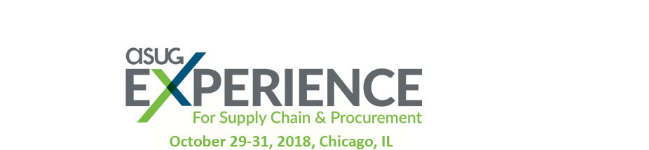 ASUG Experience for Supply Chain & Procurement