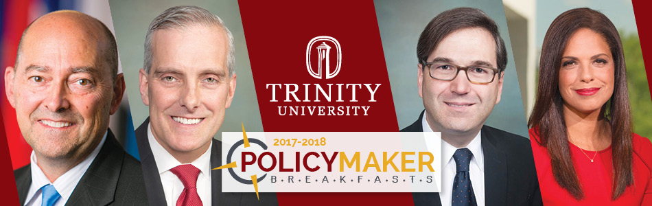 Policy Maker Breakfast Series 2017-2018