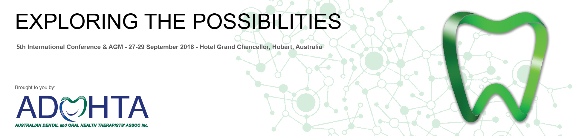 2018 ADOHTA Inc | 5th International Conference & AGM | Exploring the Possibilities