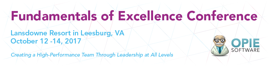 Fundamentals of Excellence Conference