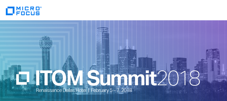 Micro Focus ITOM Summit