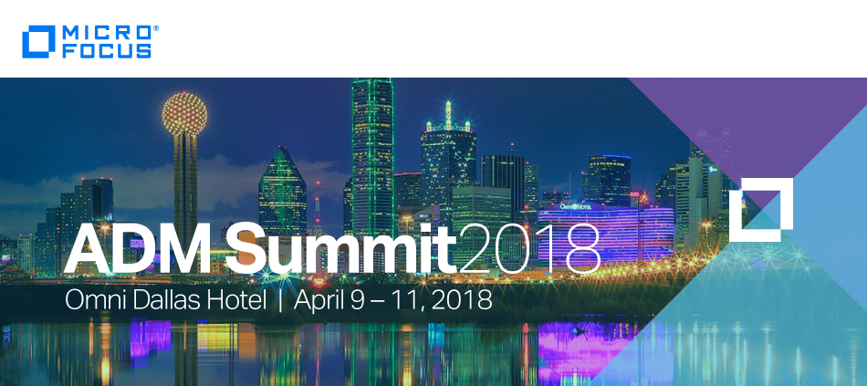 """2018 Application Delivery Management Summit - """"See the Future"""""""