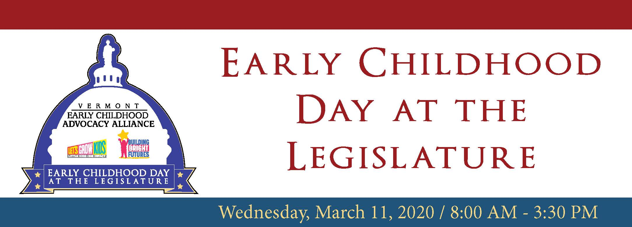 Early Childhood Day at the Legislature
