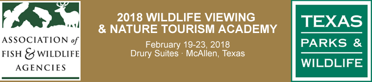2018 Wildlife Viewing & Nature Tourism Academy