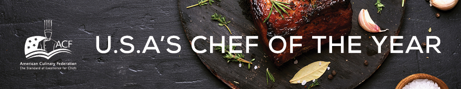 2019 USA's Chef of the Year Award Application