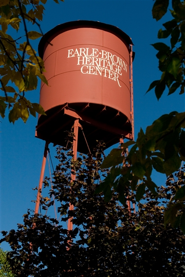 Earle Brown Heritage Center - Water Tower