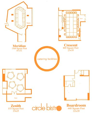 Meeting Space Floorplans