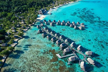 Exterior View of Overwater Bungalows