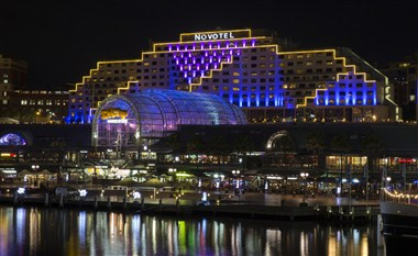 Novotel Darling Harbour at Night