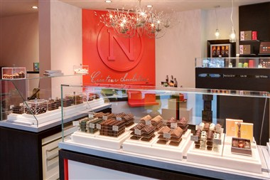 Neuhaus Chocolate shop