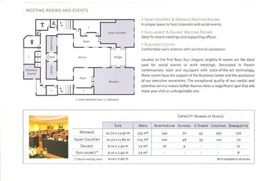 Meeting Rooms - Floor Plan
