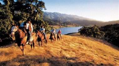 Solvang Alisal Ranch ride