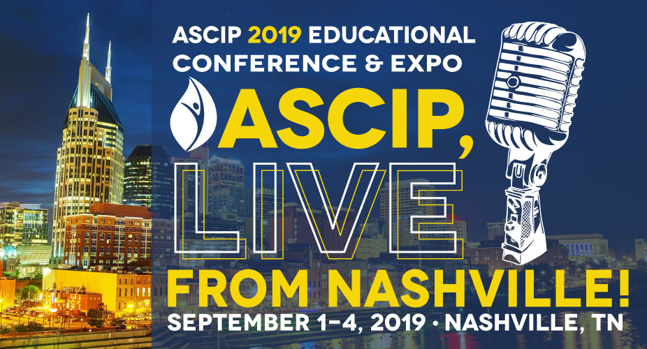 ASCIP 2019 Conference Sponsors, Exhibitors, Advertisers