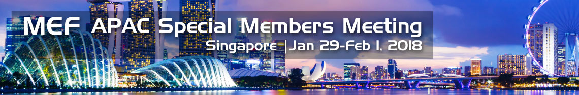 MEF APAC Special Members Meeting