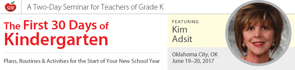 The First 30 Days of Kindergarten, Oklahoma City, OK
