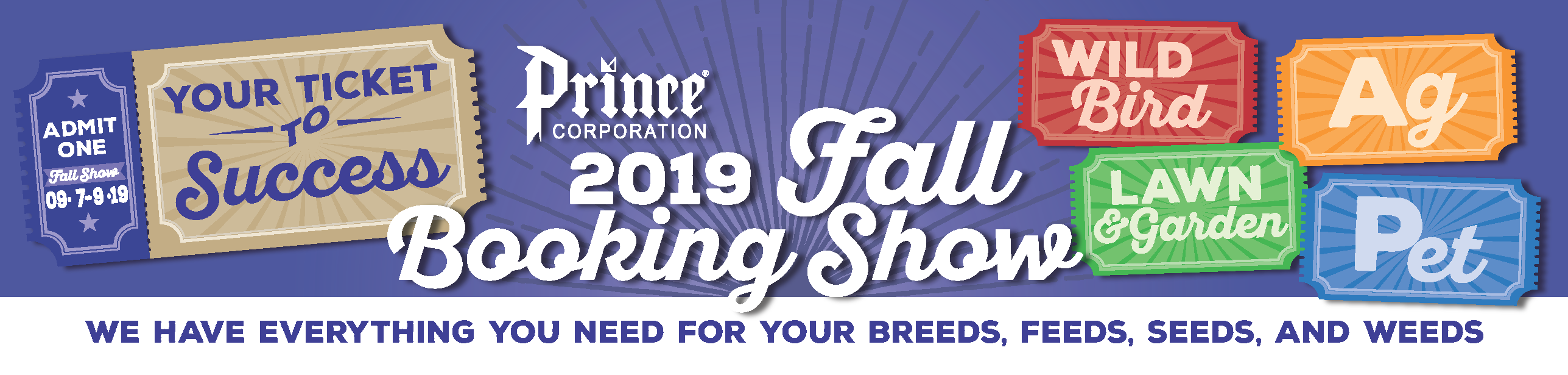 2019 Prince Fall Show Customer Registration