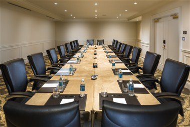 Lantana Boardroom with Conference Setup