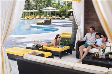 The Royal Palm Pool - Cabana