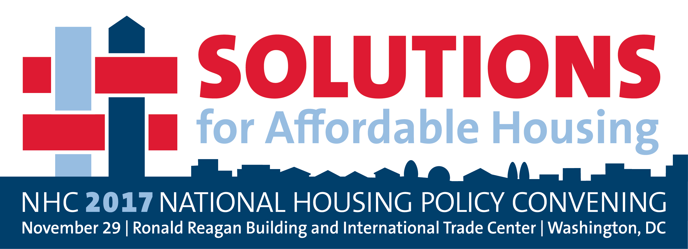Solutions for  Affordable Housing 2017- NHC's National Housing Policy Convening