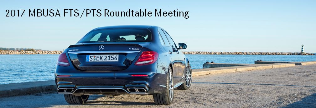 2017 Mercedes-Benz FTS/PTS Roundtable Meeting