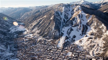 Aerial View of Aspen