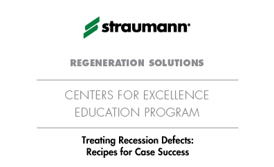 Treating Recession Defects: Recipes for Case Success