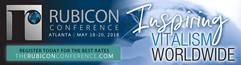 The Rubicon Conference - May 18-20, 2018