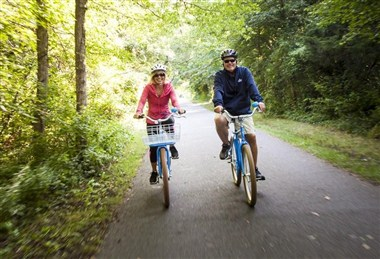 Cape Cod Rail Trail for Biking
