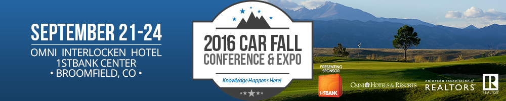 2016 CAR Fall Conference & Expo