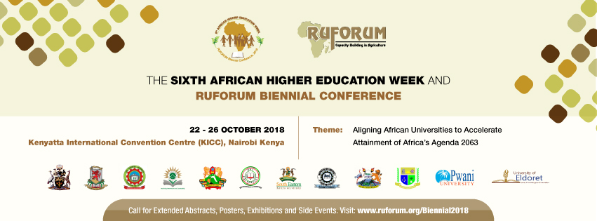 Sixth African Higher Education Week and RUFORUM Biennial Conference 2018