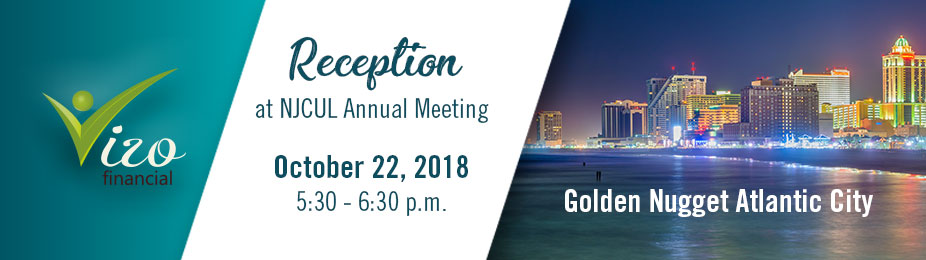 Vizo Financial Reception at the NJCUL Annual Meeting