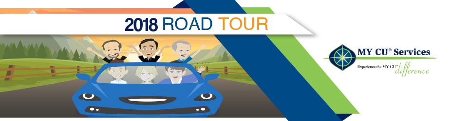 MY CU Services 2018 Road Tour