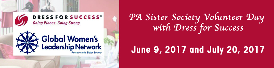 PA Sister Society Volunteer Day with Dress for Success