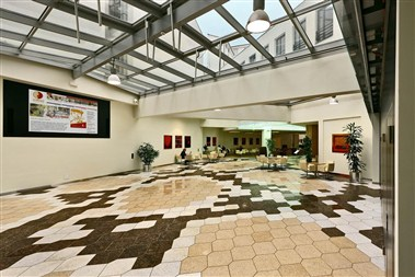 Conference center foyer with Bistro&Cafe