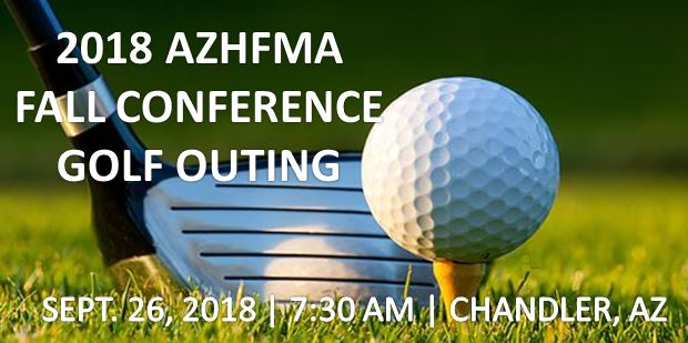 AzHFMA 2018 Fall Conference Golf Tournament