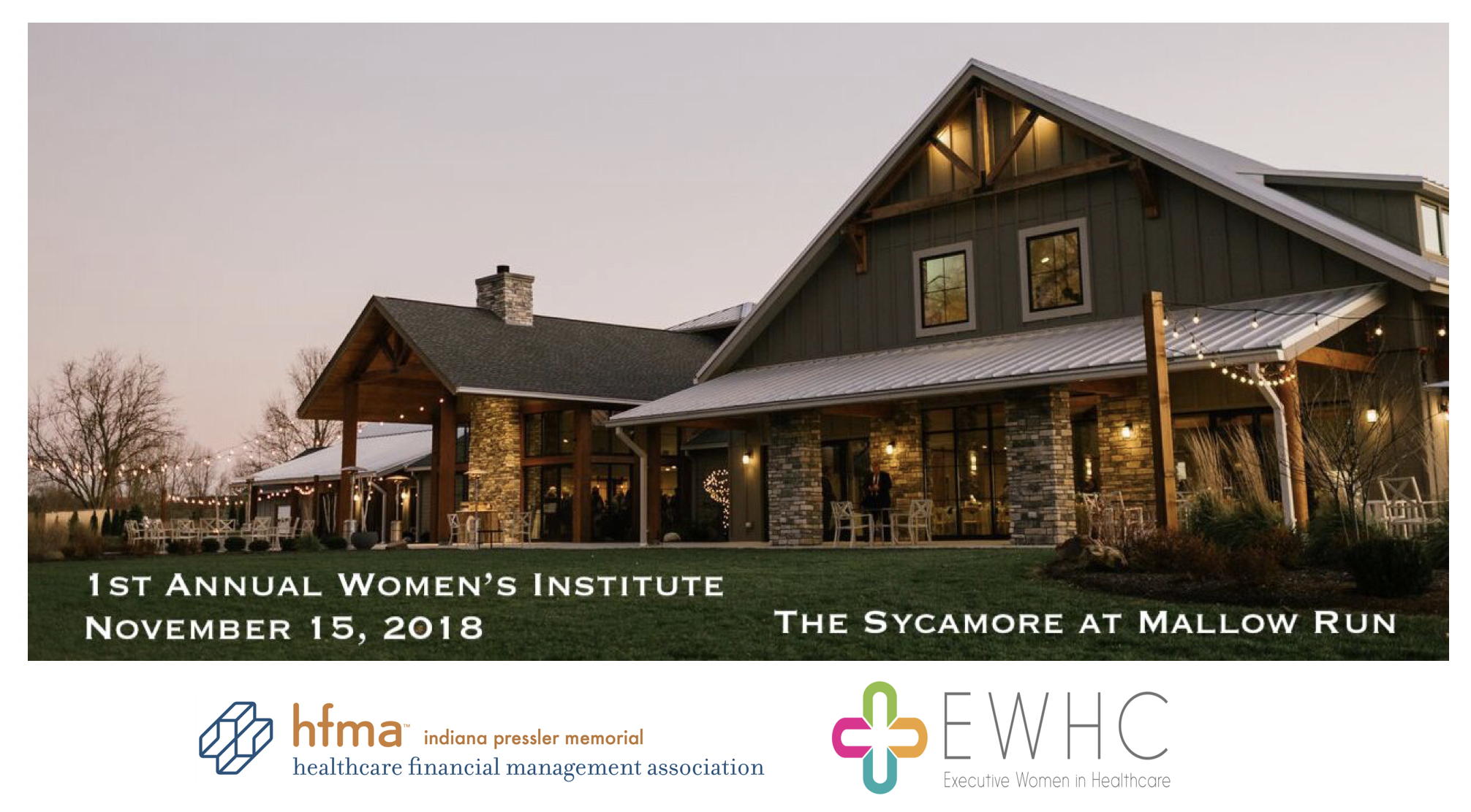 HFMA Indiana 1st Annual Women's Event
