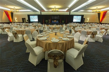 KUKULCAN-BANQUET SET UP