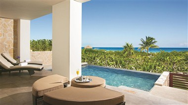 Preferred Club Master Suite Ocean Front Terrace
