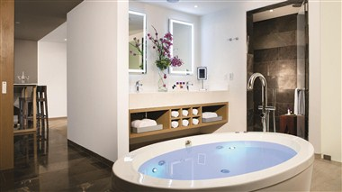 xhale club Master Suite bathroom