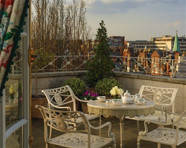 Oliver Messel Suite - Terrace