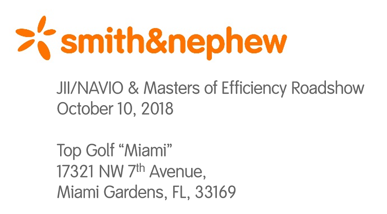 JII/NAVIO & MASTERS OF EFFICIENCY ROADSHOW - MIAMI