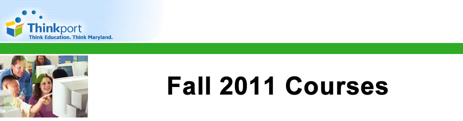Fall 2012 Online Courses