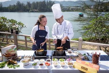 Thai Cooking Class at Dusit Thani Laguna Phuket