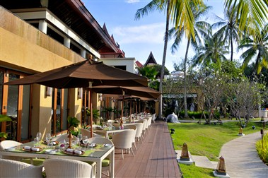 The Watercourt Restaurant at Banyan Tree Phuket