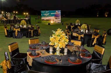 Banquet Setup on Laguna Golf Phuket