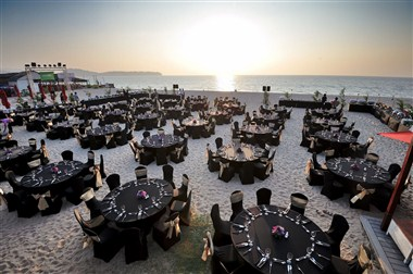 Banquet Setup on the beach