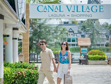 Canal Village Shopping at Laguna Phuket