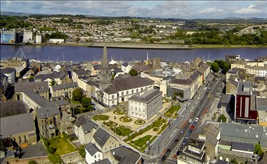 Waterford city - historic Viking Triangle