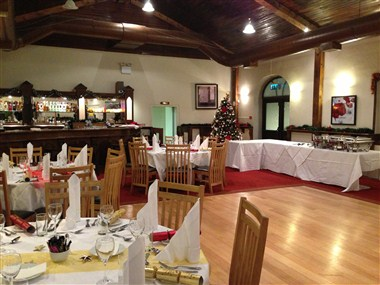 Clubhouse Banquet area
