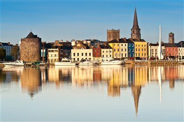 View of Waterford City from River Suir